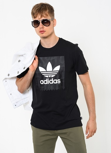 adidas Baskılı Tişört Siyah